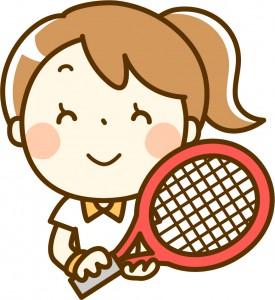 テニス女左