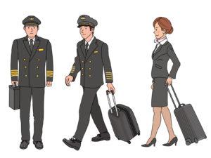 AiSunnyあいあいの勤務していた航空会社は?